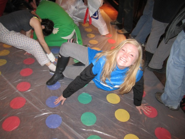 Ghostin' on the Twister mat