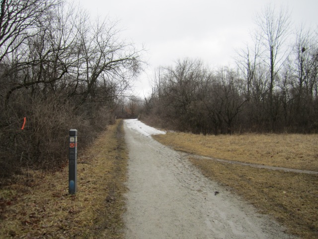 The exhilarating entry to the Palos trail system