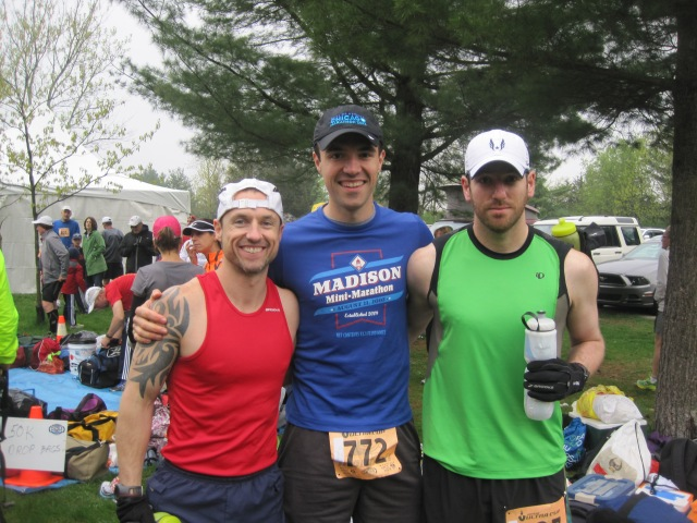 Jeff, Dan, and myself just before the race