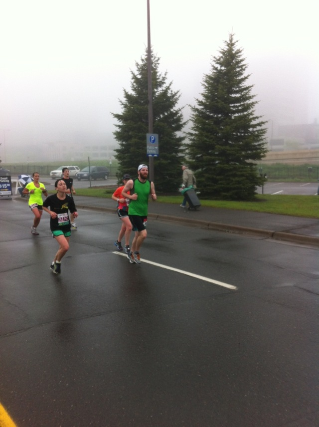 Photo taken by Uncle Craig, who I didn't notice at all during the race