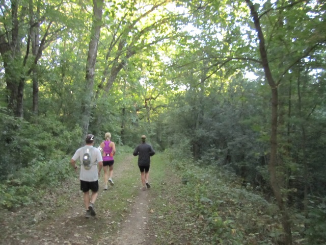 It was a really pretty trail